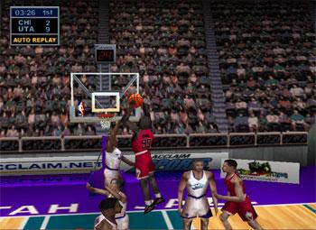 Pantallazo del juego online NBA Jam 99 (N64)