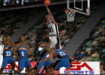 Imagen de la descarga de NBA Live 2000