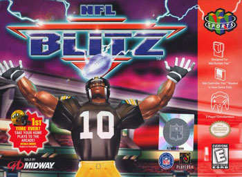 Portada de la descarga de NFL Blitz
