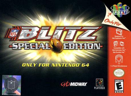 Portada de la descarga de NFL Blitz Special Edition