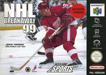 Portada de la descarga de NHL Breakaway 99