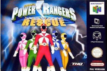 Portada de la descarga de Power Rangers Lightspeed Rescue