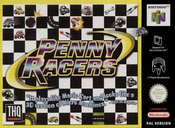 Portada de la descarga de Penny Racers