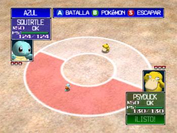 Pantallazo del juego online Pokemon Stadium (N64)