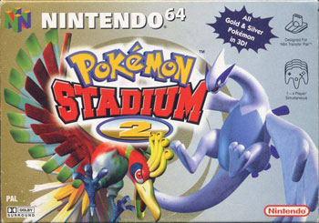 Portada de la descarga de Pokemon Stadium 2