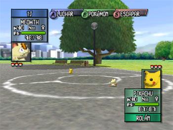 Pantallazo del juego online Pokemon Stadium 2 (N64)