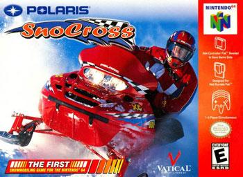 Carátula del juego Polaris SnoCross (N64)