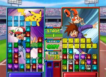 Pantallazo del juego online Pokemon Puzzle League (N64)