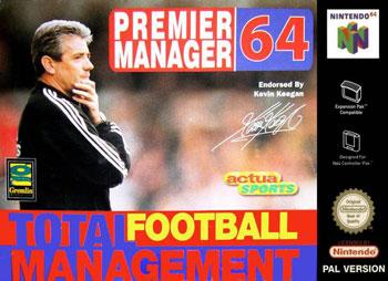 Portada de la descarga de Premier Manager 64