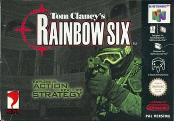 Carátula del juego Tom Clancy's Rainbow Six (N64)