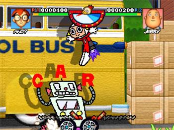 Pantallazo del juego online Rakuga Kids (N64)