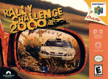Carátula del juego Rally Challenge 2000 (N64)