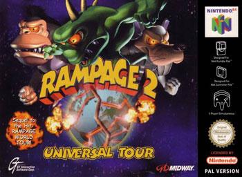 Portada de la descarga de Rampage 2: Universal Tour