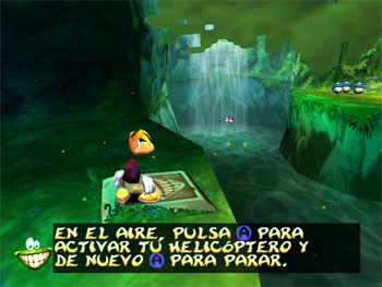 Pantallazo del juego online Rayman 2 The Great Escape (N64)