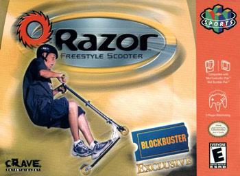 Portada de la descarga de Razor Freestyle Scooter