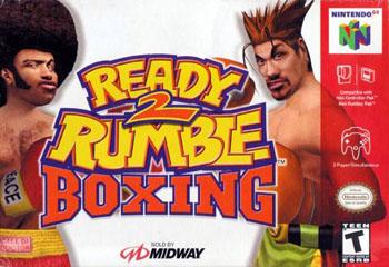 Carátula del juego Ready 2 Rumble Boxing (N64)