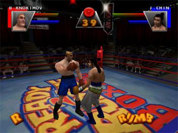 Pantallazo del juego online Ready 2 Rumble Boxing (N64)