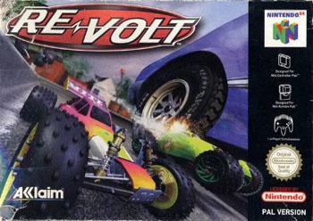 Carátula del juego Re-Volt (N64)