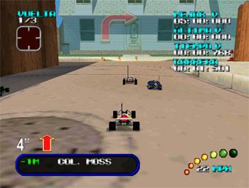 Pantallazo del juego online Re-Volt (N64)