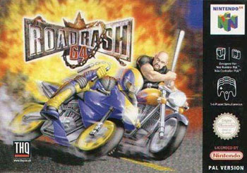 Portada de la descarga de Road Rash 64