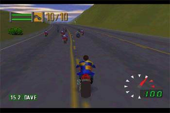 Imagen de la descarga de Road Rash 64
