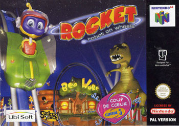 Portada de la descarga de Rocket: Robot on Wheels