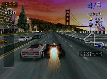 Pantallazo del juego online San Francisco Rush 2049 (N64)