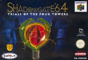 Portada de la descarga de Shadowgate 64: Trials of the Four Towers
