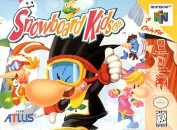 Carátula del juego Snowboard Kids (N64)