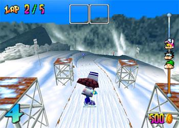 Pantallazo del juego online Snowboard Kids (N64)
