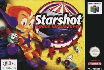 Portada de la descarga de Starshot: Space Circus Fever