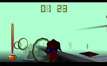 Pantallazo del juego online Superman (N64)