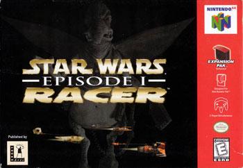Carátula del juego Star Wars Episode I Racer (N64)