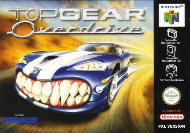Portada de la descarga de Top Gear Overdrive