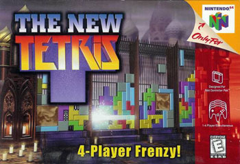 Portada de la descarga de The New Tetris