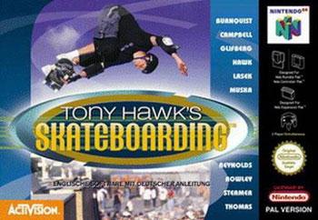 Portada de la descarga de Tony Hawk's Pro Skater