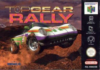 Portada de la descarga de Top Gear Rally