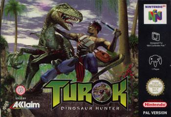 Portada de la descarga de Turok: Dinosaur Hunter