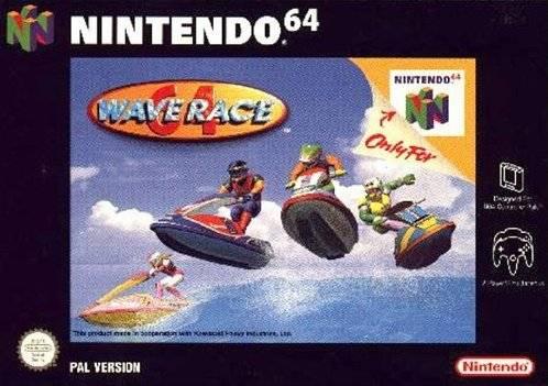 Carátula del juego Wave Race 64 (N64)