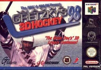 Juego online Wayne Gretzky's 3D Hockey '98 (N64)