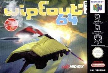 Carátula del juego Wipeout 64 (N64)
