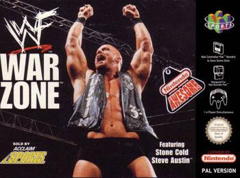 Portada de la descarga de WWF War Zone