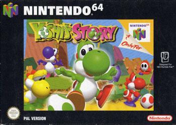 Carátula del juego Yoshi's Story (N64)