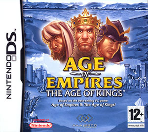 Carátula del juego Age of Empires II The Age of Kings (NDS)