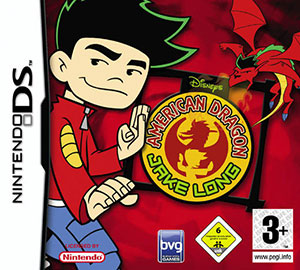Juego online Disney's American Dragon: Jake Long - Attack of the Dark Dragon (NDS)