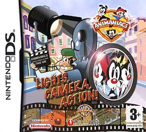 Juego online Animaniacs: Lights Camera Action (NDS)