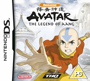 Juego online Avatar: The Legend of Aang (NDS)