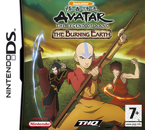 Juego online Avatar : The Last Airbender - The Burning Earth (NDS)