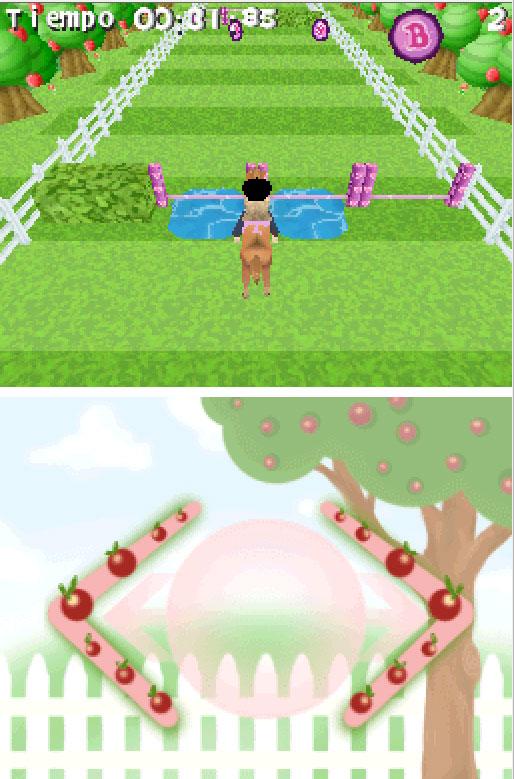 Pantallazo del juego online Bratz Forever Diamondz (NDS)