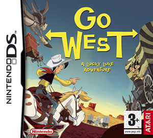 Portada de la descarga de Lucky Luke: Go West!